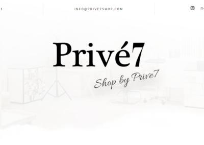 Prive7 Shop